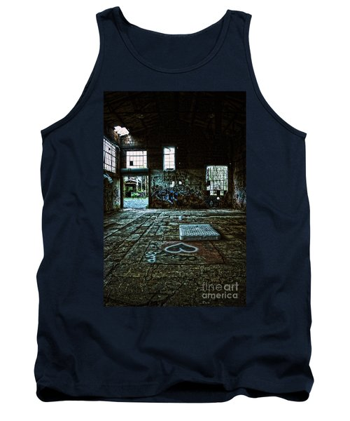 Tank Top featuring the photograph A Place With Heart by Debra Fedchin