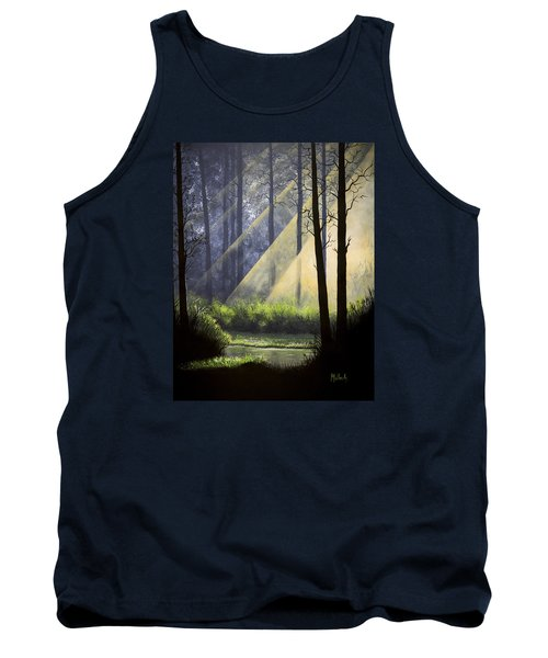 A Quiet Place Tank Top by Jack Malloch