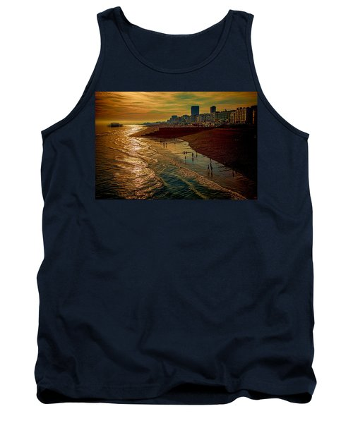 Tank Top featuring the photograph A September Evening In Brighton by Chris Lord