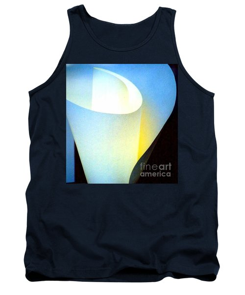 Tank Top featuring the photograph A Shade Of Illumination by Michael Hoard
