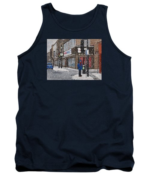 A Snowy Day On Wellington Tank Top