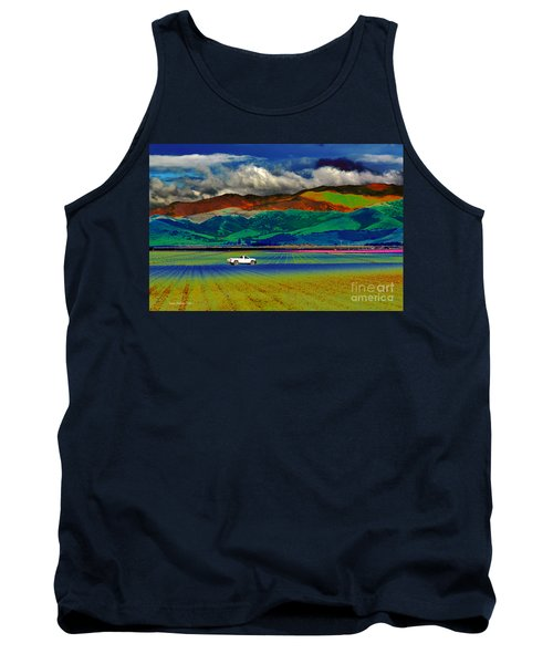 Tank Top featuring the photograph A Surreal Ride by Susan Wiedmann