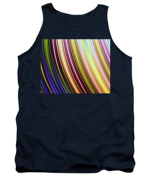 Abstract Colours Tank Top