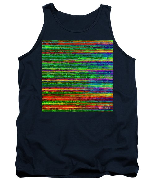 Abstract Lines 9 Tank Top