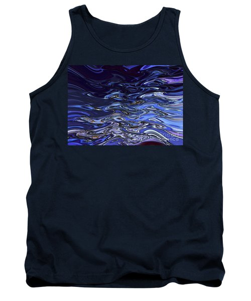 Abstract Reflections - Digital Art #2 Tank Top