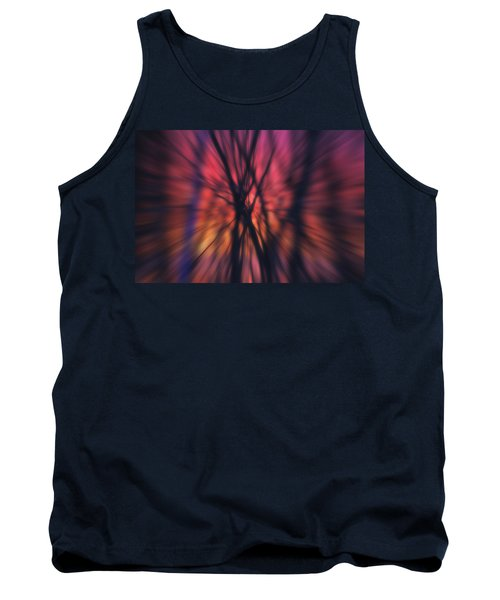 Abstract Sunset Tank Top