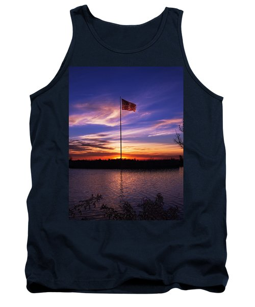 America The Beautiful Tank Top