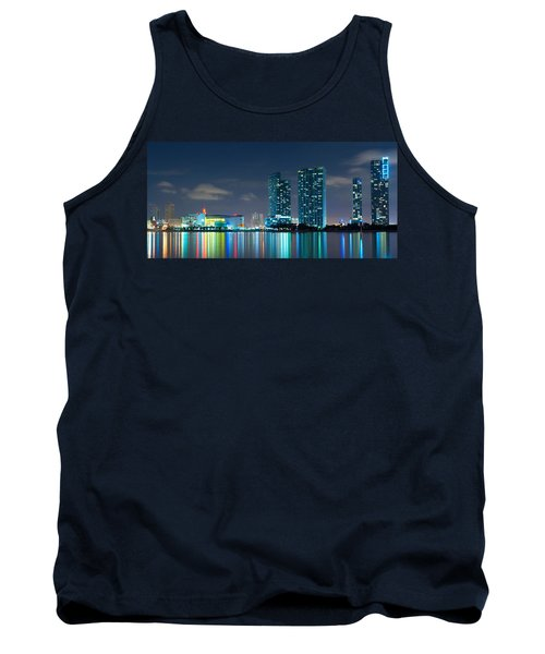 American Airlines Arena And Condominiums Tank Top by Carsten Reisinger