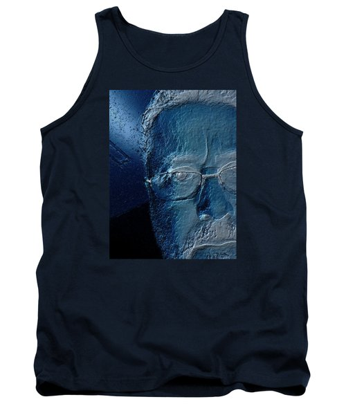 Amiblue Tank Top by Jeff Iverson