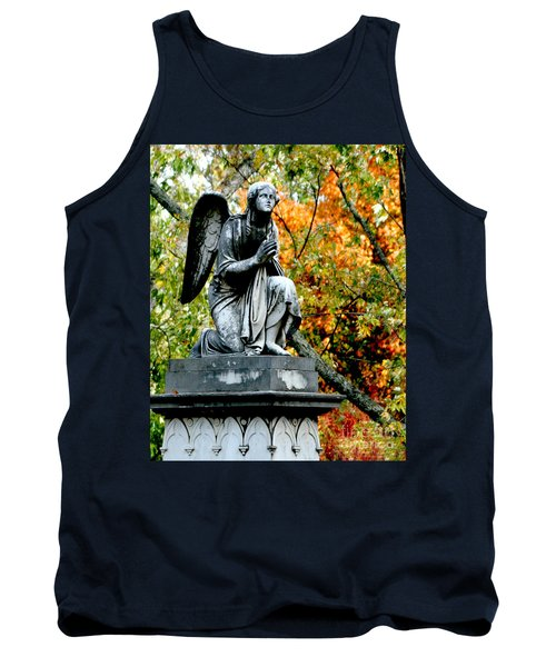 Tank Top featuring the photograph An Angels' Prayer by Lesa Fine