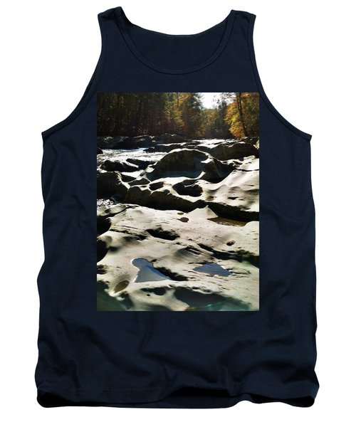 Tank Top featuring the photograph Ancient River by Janice Spivey