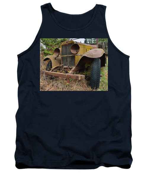 Antique Pickup Truck Tank Top