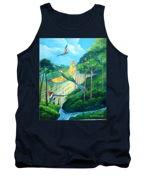 Aras On The Forest Tank Top