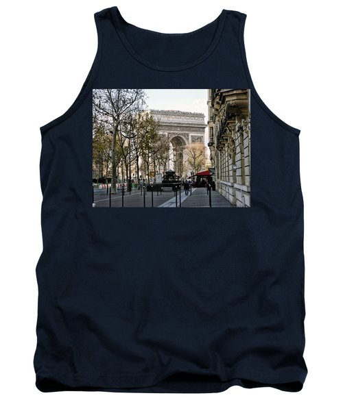 Arc De Triomphe Paris Tank Top