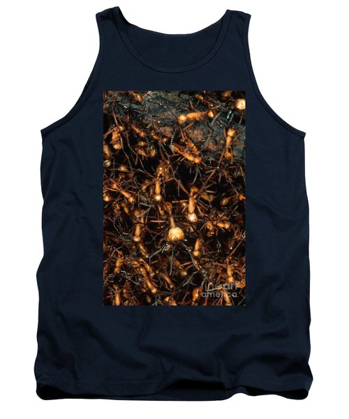 Army Ant Bivouac Site Tank Top by Gregory G. Dimijian, M.D.