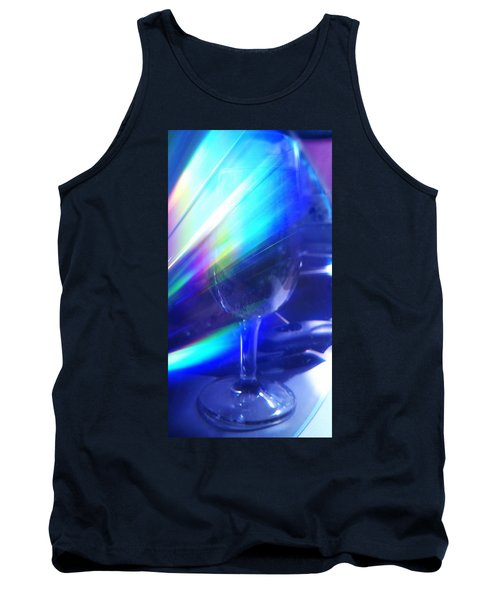 Tank Top featuring the photograph Art Glass by Martin Howard