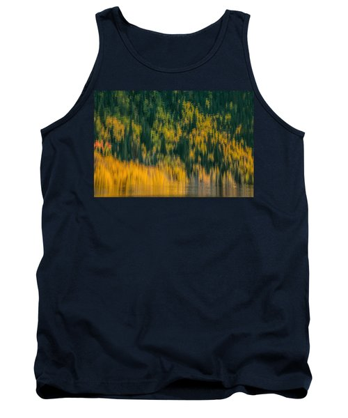 Tank Top featuring the photograph Aspen Abstract by Ken Smith