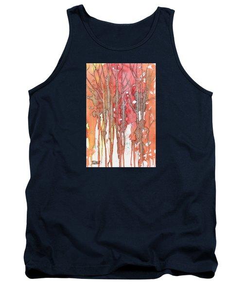 Autumn Abstract No.1 Tank Top