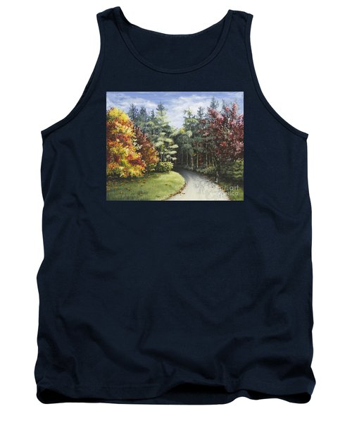 Autumn In The Arboretum Tank Top