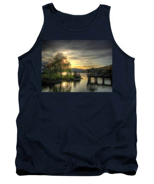 Autumn Sunset Tank Top by Nicola Nobile