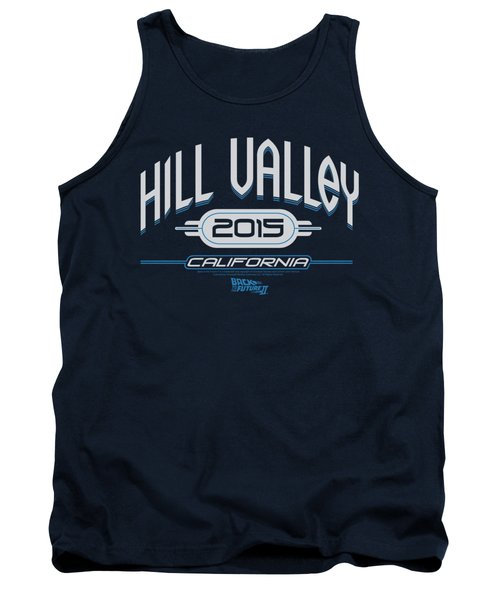 Back To The Future II - Hill Valley 2015 Tank Top