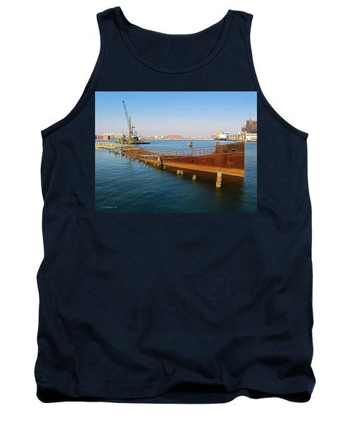Tank Top featuring the photograph Baltimore Museum Of Industry by Brian Wallace