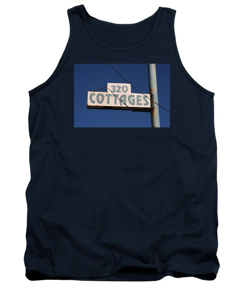 Beach Cottages Tank Top by Art Block Collections