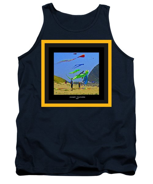 Beach Kids 4 Kites Tank Top