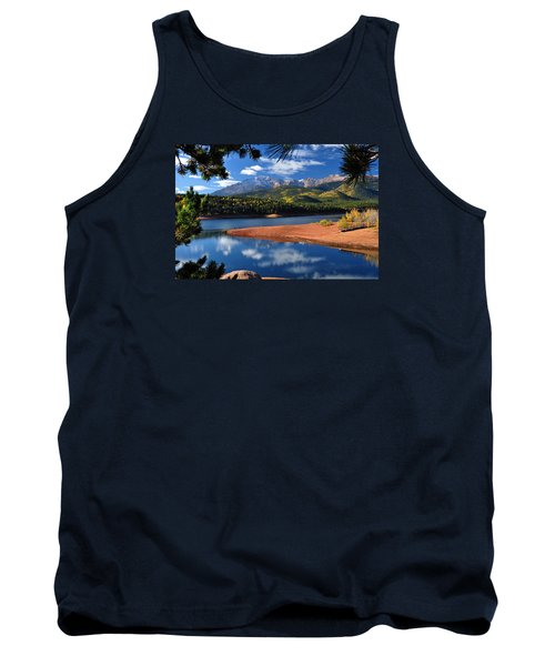 Beautiful Pikes Peak At Crystal  Tank Top