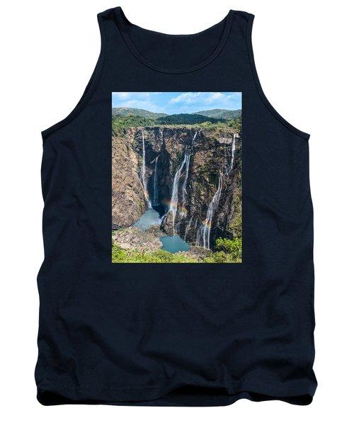Beautiful Waterfalls In India Tank Top