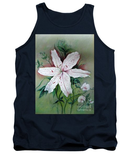 Tank Top featuring the painting Beauty For Ashes by Hazel Holland