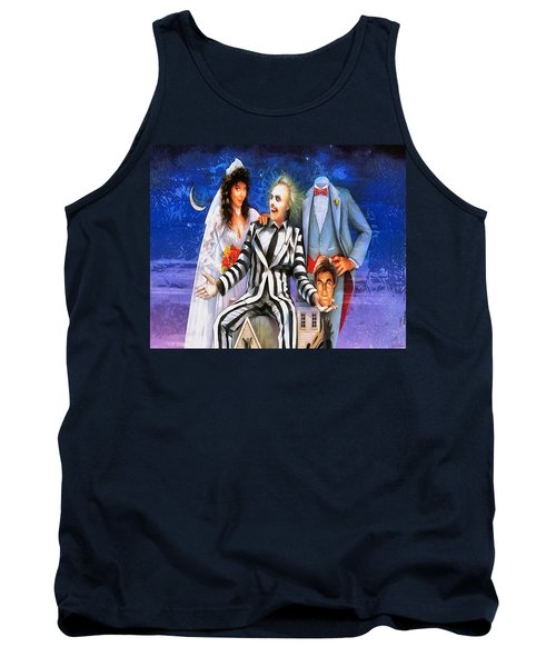 Beetlejuice Tank Top