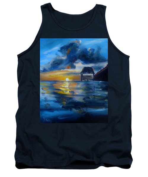 Belizean Sunrise Tank Top