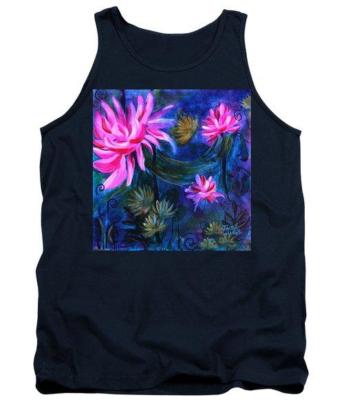 Beneath Dark Lotus Waters Tank Top