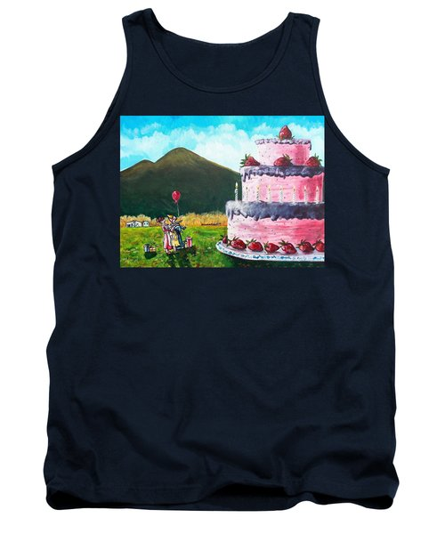 Big Birthday Surprise Tank Top