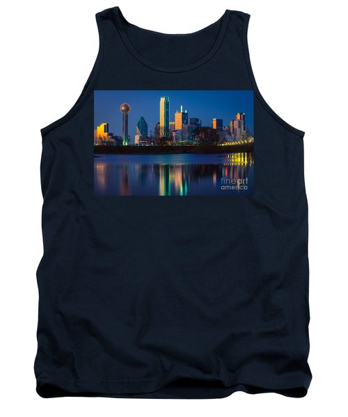 Big D Reflection Tank Top by Inge Johnsson