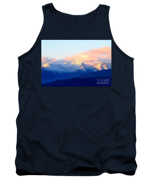 Bitterroot Mountains Montana Tank Top