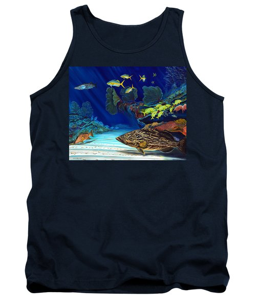 Black Grouper Reef Tank Top