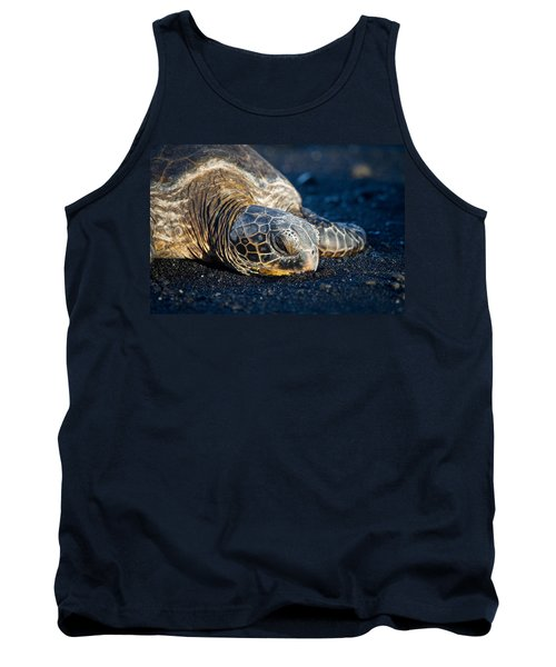 Black Sand Nap Tank Top by Denise Bird