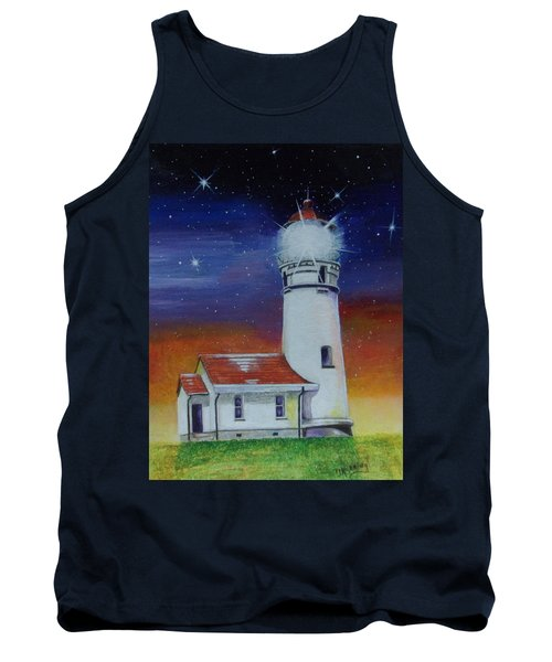 Blanco Lighthouse Tank Top