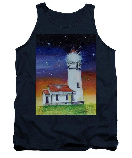 Blanco Lighthouse Tank Top