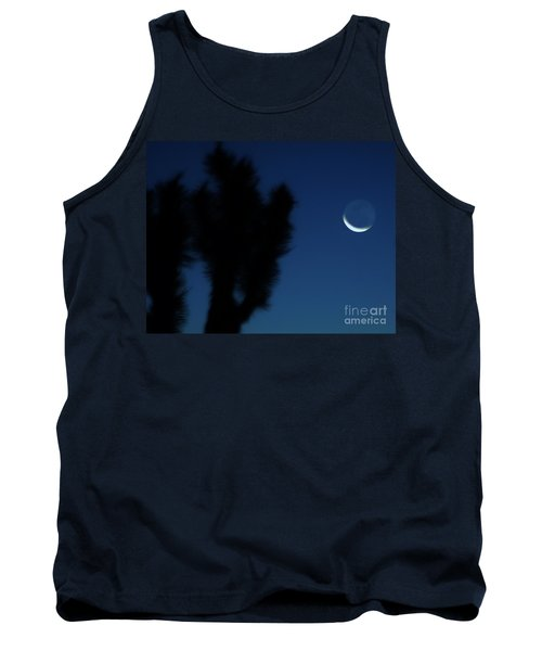 Tank Top featuring the photograph Blue by Angela J Wright
