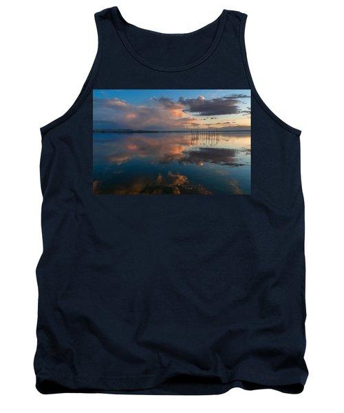 Blue Lagoon. Valencia Tank Top