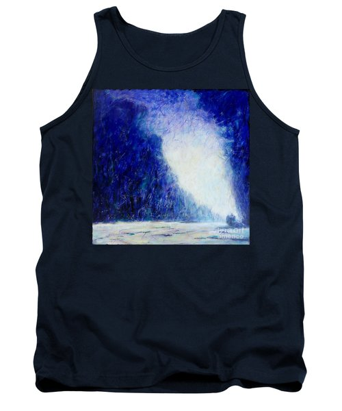 Blue Landscape - Abstract Tank Top