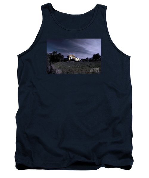 Tank Top featuring the photograph Blue Night by Nareeta Martin