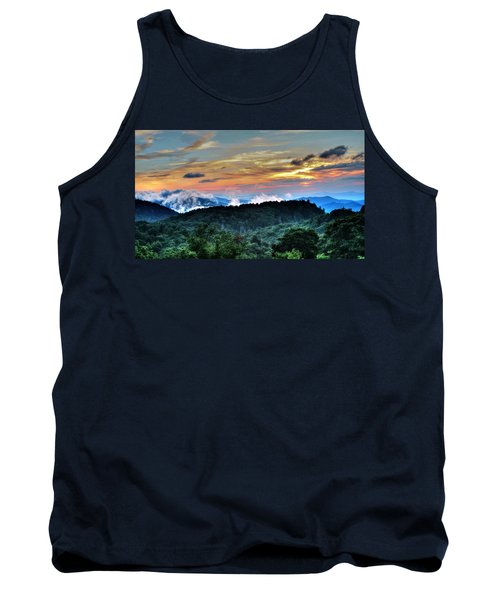 Blue Ridge Mountain Sunrise  Tank Top