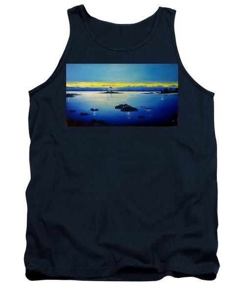 Blue Skies Tank Top by Kelly Turner