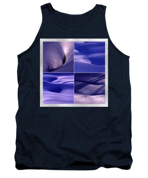 Tank Top featuring the photograph Blue Snow by Randi Grace Nilsberg