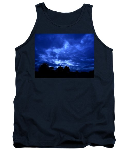 Blue Storm Rising Tank Top