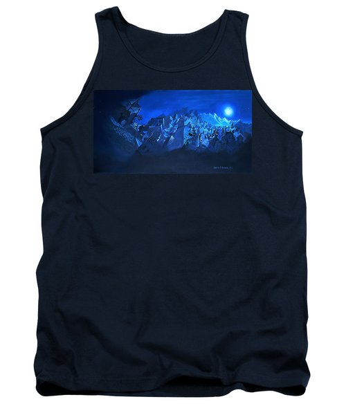 Blue Village Tank Top